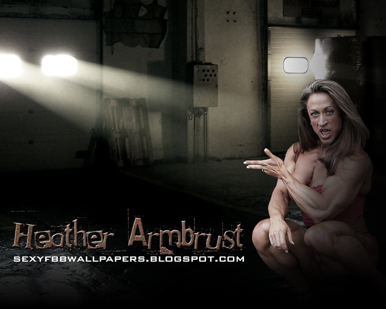 IFBB Pro Heather Armbrust - FBB Wallpapers