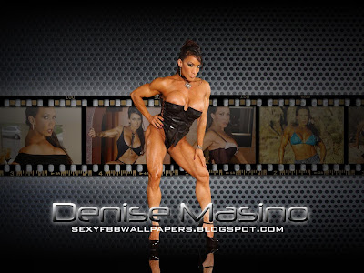 Denise Masino USA World Handsome Female bodybuilders