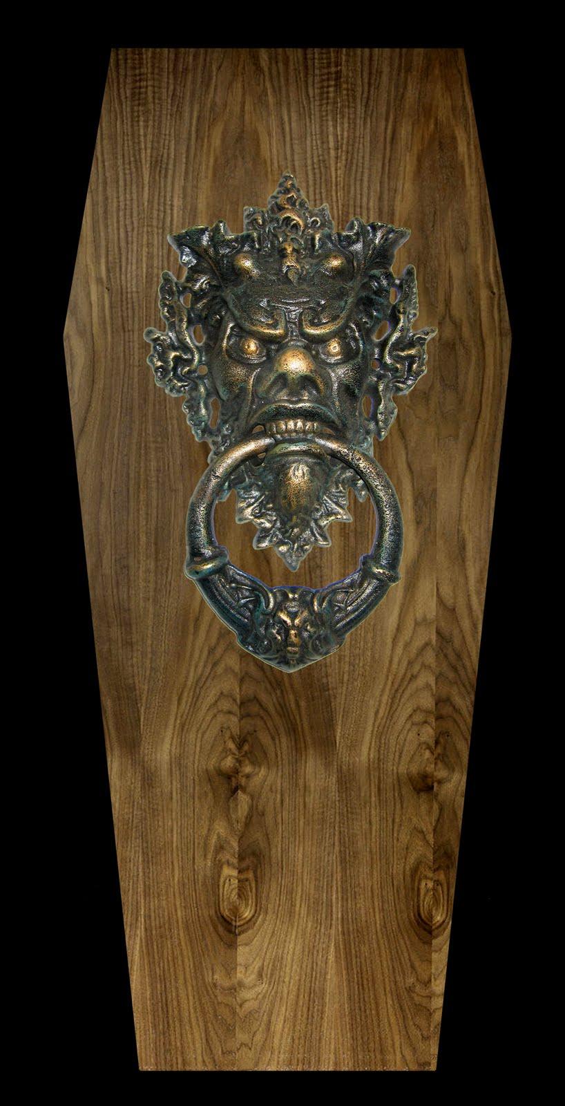 count dracula sculpture vampire coffin