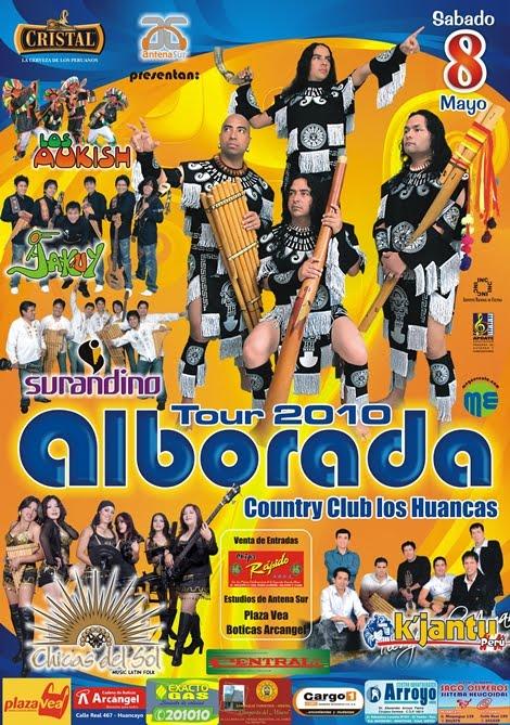 Alborada en Huancayo