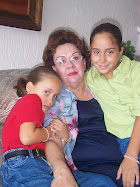 Granny, my sister and me.