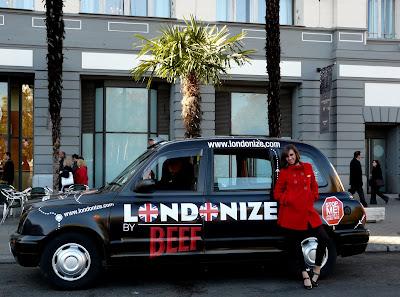 beefeater london cab m30 en el palace