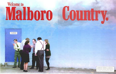 Welcome to Marlboro Country, enjoy the weather