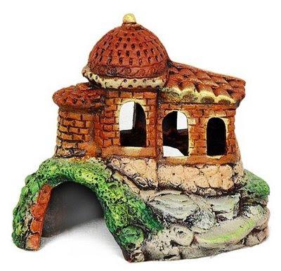 Арабский замок для аквариума