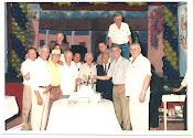 Compartiendo con los campeones del 51 y 53 del Sp. Luqueño