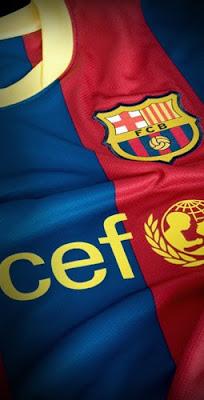 Nuevo Uniforme y Playera del Barcelona 2010 - 2011