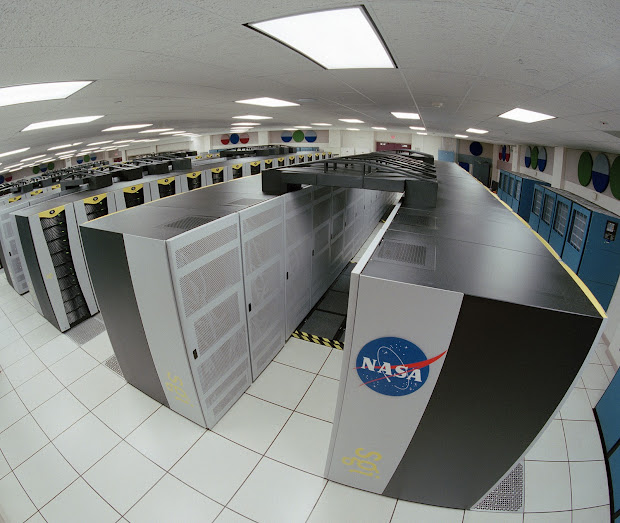 This is Pleiades, NASA's largest, most powerful supercomputer!