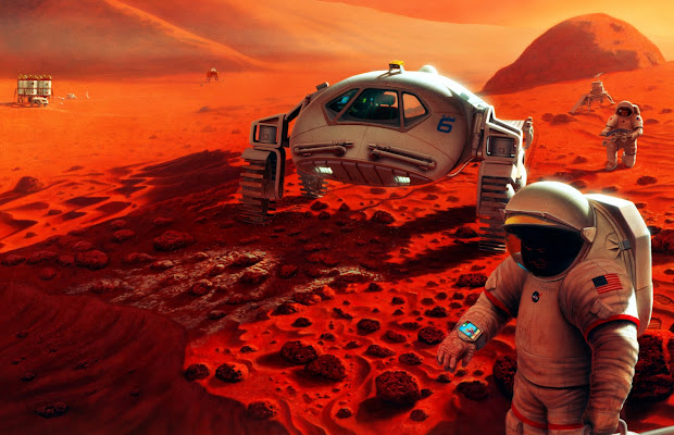 NASA's vision of manned Mars exploration: more than a dream?