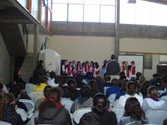 coro LICEO ECILDA PAULLIER, 6 octubre 2009, en liceo DAU