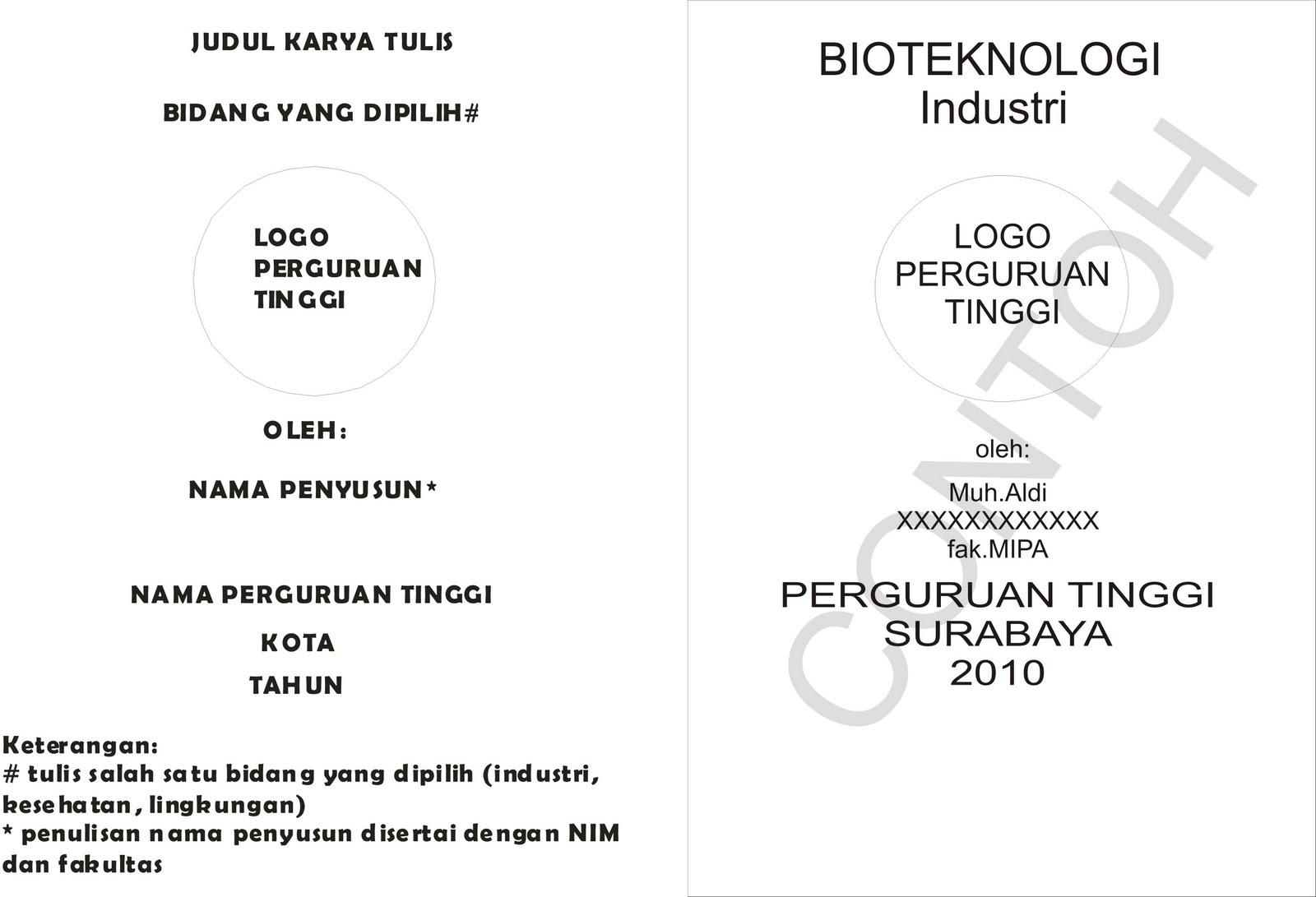 LKTI dan Seminar Nasional Biokimia 2010 UA