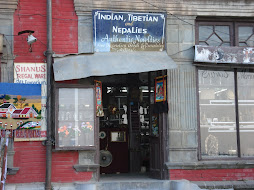 A Nepalies Shop in Shimla