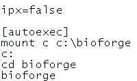 Adding to the autoexec commands