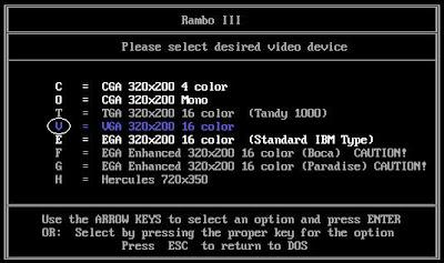 Rambo 3 screen size