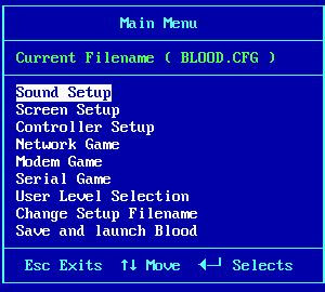 Blood sound setup