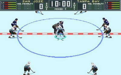 Brett Hull Hockey 95 screenshot