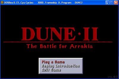 Dune 2 screenshot
