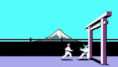 Karateka screenshot
