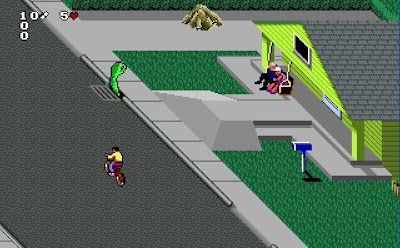 Paperboy 2 game screenshot