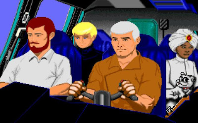 Jonny Quest PC game screenshot
