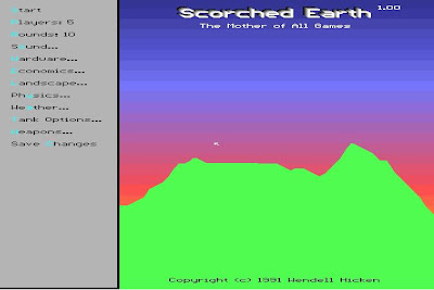 Scorched Earth screenshot
