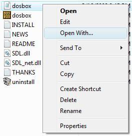 Editing config file