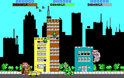Rampage PC game screenshot
