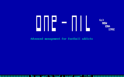 1-0 Soccer Manager