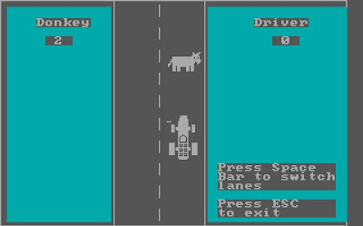 Donkey DOS game