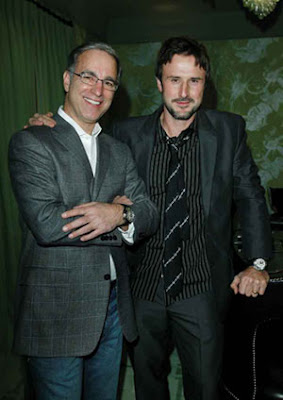 Paul Ziff, President, Zenith North America and David Arquette
