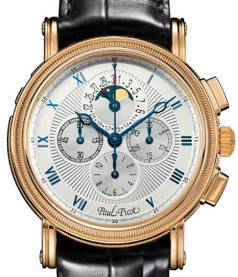 Paul Picot Chrono Lemania Moonphase Watch