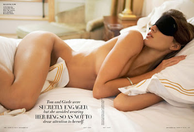 Жизель Будхен Vanity Fair Magazine - май 2009