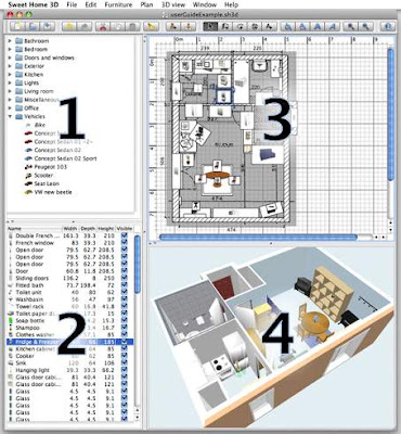 Recursos gratis en internet sweet home 3d dise a y - Disena tu casa gratis ...