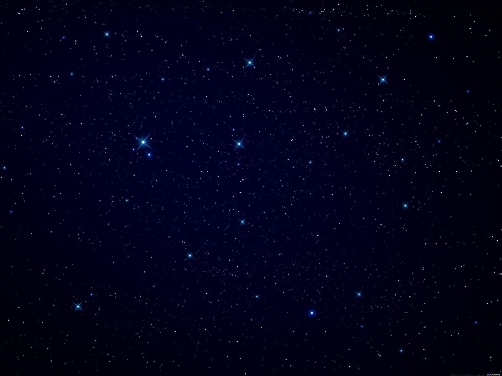 Открытка звездное небо