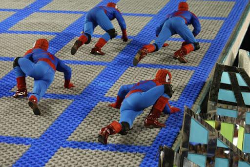 carnaval nerd homem aranha