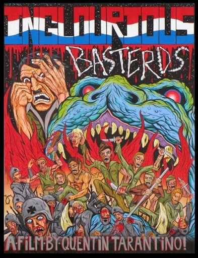 posters bastardos inglórios