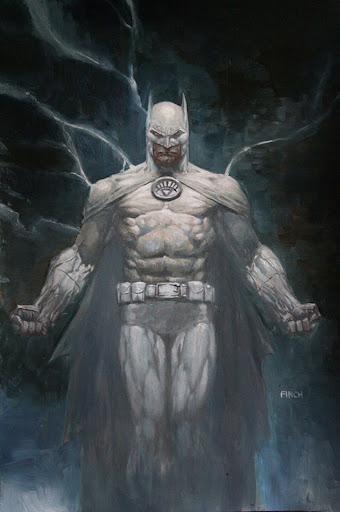 Lanterna Branco batman