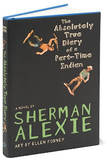 children s literature book club the absolutely true diary of a the absolutely true diary of a part time n by sherman alexie for those of you who don t know the official title of my ma is a master of arts in