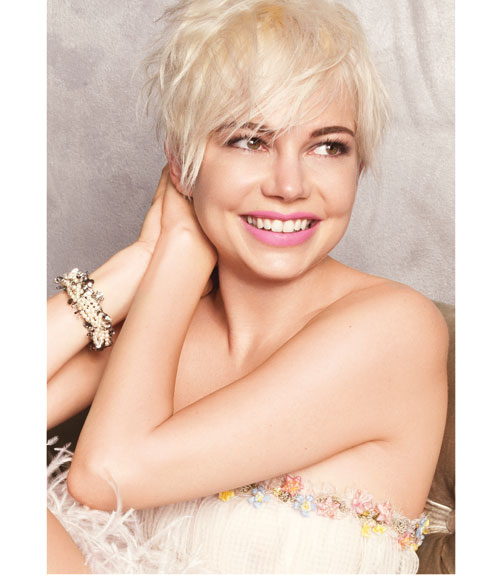 Burst in Style: Michelle Williams Glows In Marie Claire February 2011