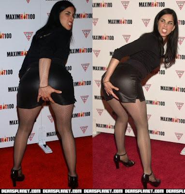 sarah silverman's butt