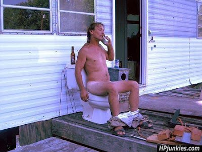 redneck toilet phone