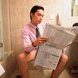 toilet reading