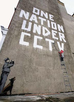 CCTV mural