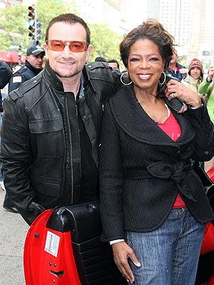 Bono Oprah