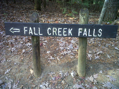 fall creek falls sign