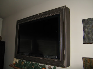 pottery barn look a like tv frame chocolate or black