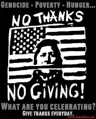 NATIVE INDIANS THANKSGIVING