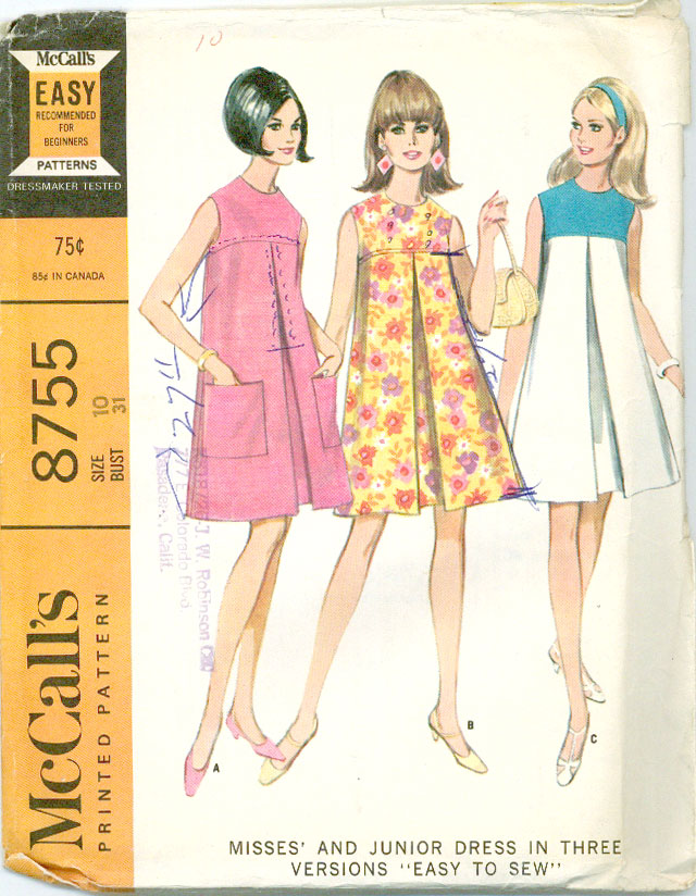 sewing sites Vintage patterns