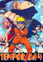 Naruto 4ª Temporada Dublado Completa