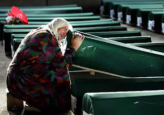 Srebrenica Massacre - Funeral of Genocide Victims