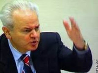 Slobodan Milosevic on Trial
